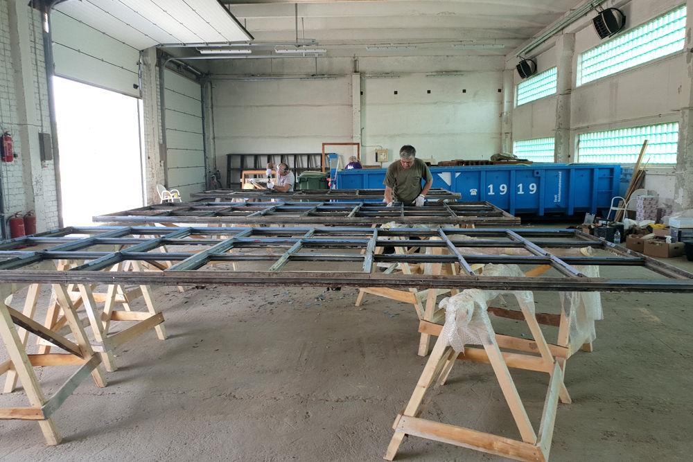 Metallvinduer restaurering