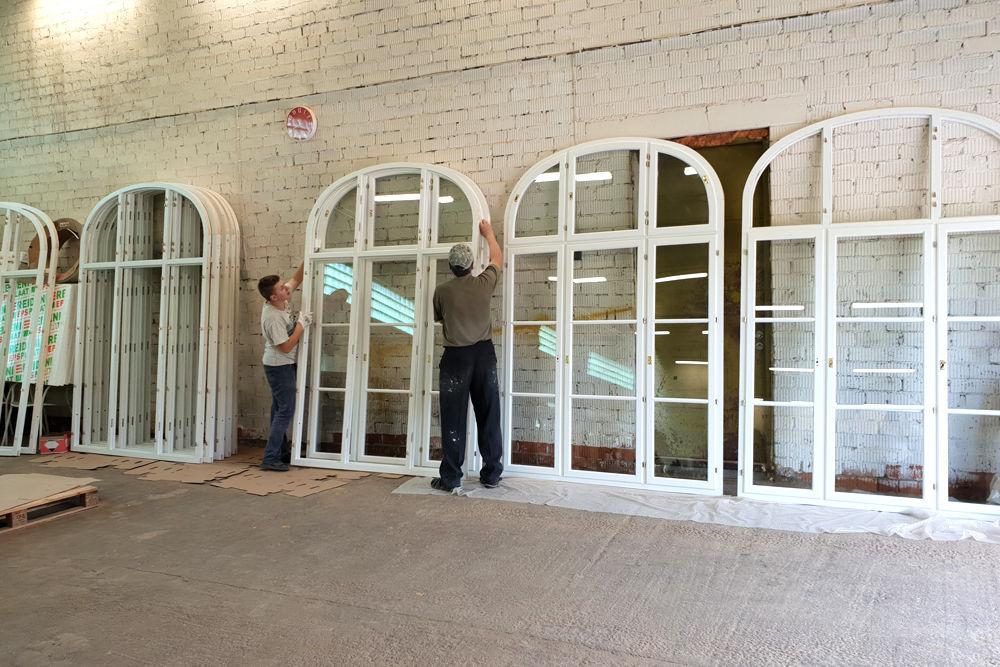 Produksjon av koopier og nye vinduer