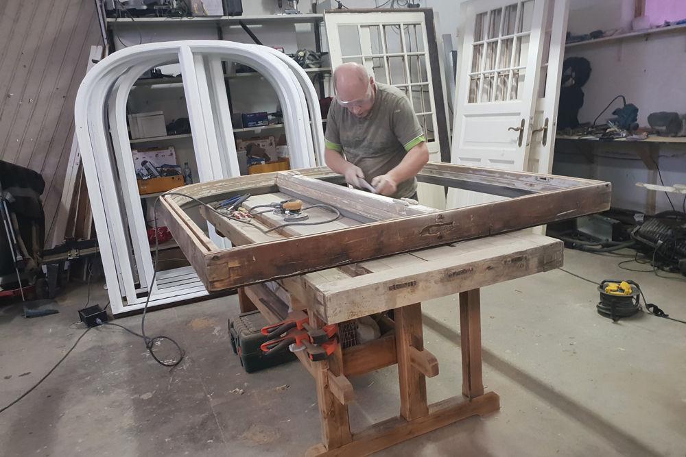 Renovering av trevinduer