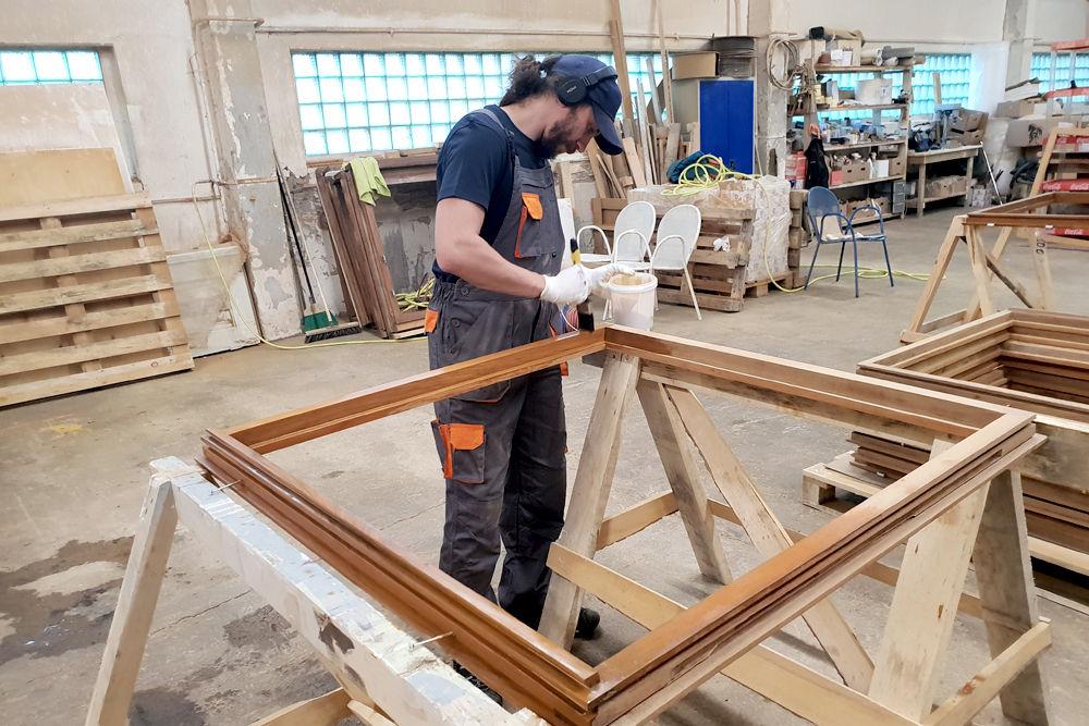 Restaurering af trævinduer